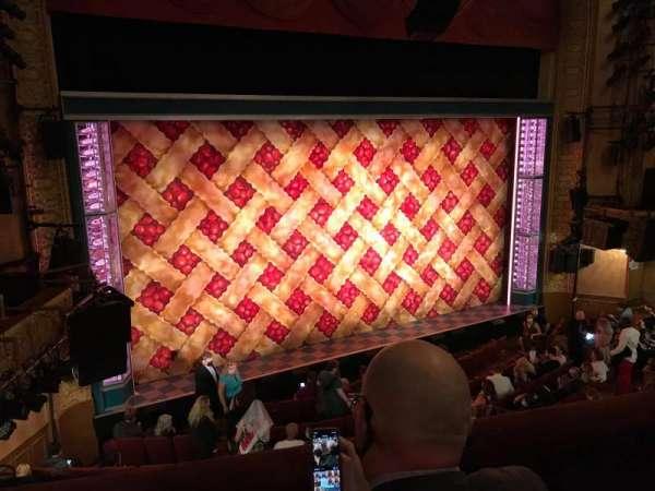 Ethel Barrymore Theatre, section: Front Mezzanine L, row: B, seat: 9