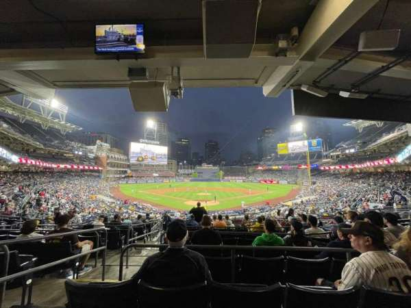 PETCO Park, section: G, row: 11, seat: 2