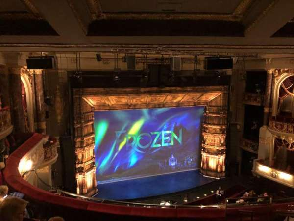 Theatre Royal Drury Lane, section: Grand Circle, row: F, seat: 39