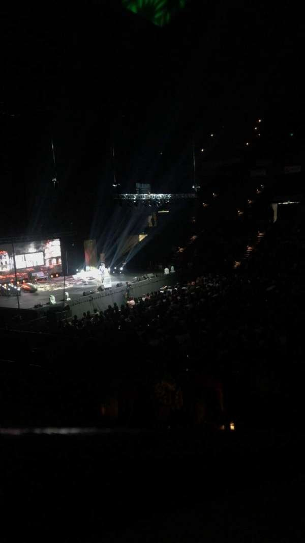 Royal Farms Arena, section: 209, row: B, seat: 5