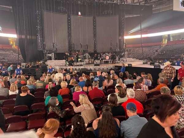 Bon Secours Wellness Arena, section: FLOOR4, row: B, seat: 7-8