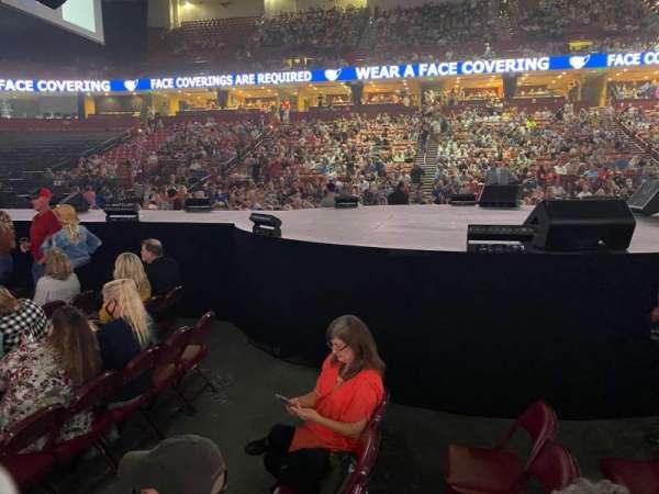 Bon Secours Wellness Arena, section: FLOOR 4, row: B, seat: 7-8