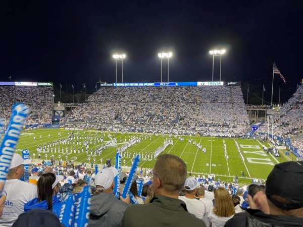 LaVell Edwards Stadium, section: 102, row: 18, seat: 23