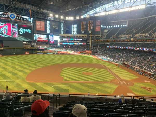 Chase Field, section: 211, row: 10, seat: 27