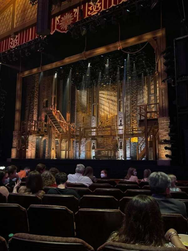 Fox Theatre (Atlanta), section: Orchestra RC, row: H, seat: 70