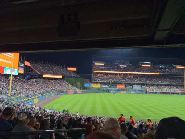 Coors Field, section: 145, row: 37, seat: 18