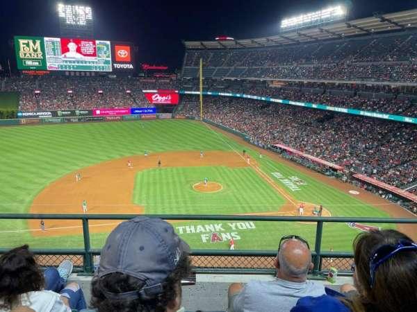 Angel Stadium, section: 412, row: C, seat: 21