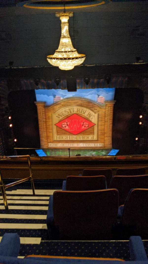 Royal Alexandra Theatre, section: Upper Grand Circle, row: D, seat: 20