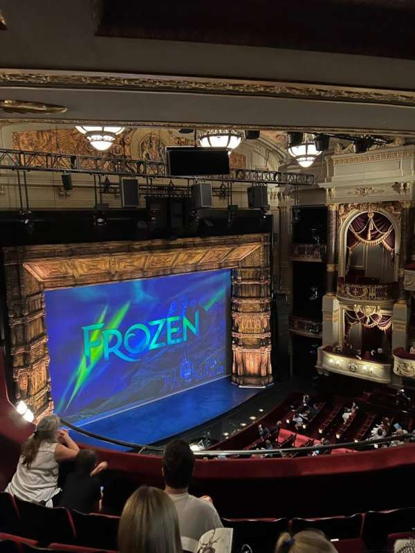 Theatre Royal Drury Lane, section: Grand Circle, row: E, seat: 46