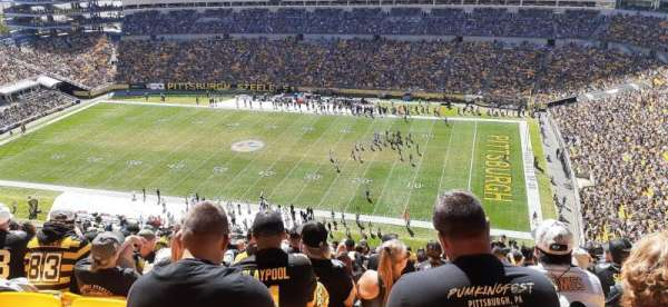 Heinz Field, section: 514, row: Y, seat: 15