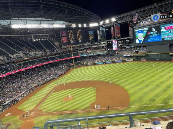 Chase Field, section: 309, row: 9, seat: 15