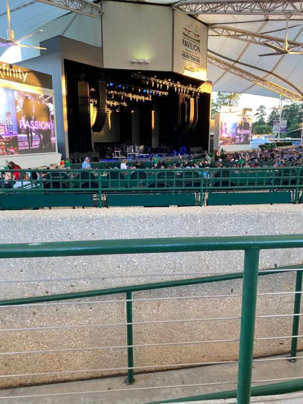 Cynthia Woods Mitchell Pavilion, section: 105, row: A, seat: 5-6