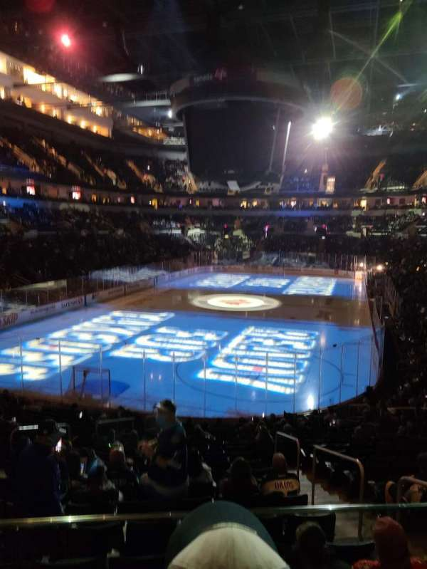 Canada Life Centre, section: 224, row: 2, seat: 4