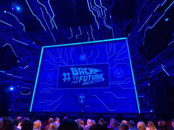 Adelphi Theatre, section: Stalls, row: L, seat: 12