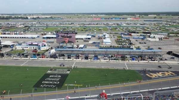Daytona International Speedway, section: 464, row: 40, seat: 26