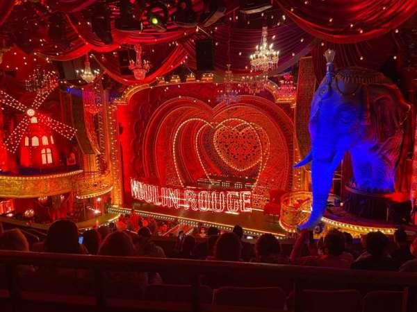 Al Hirschfeld Theatre, section: Mezzanine R, row: G, seat: 14