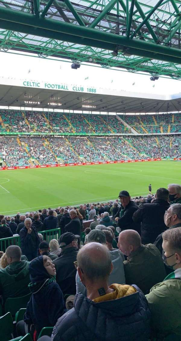 Celtic Park, section: Ws1, row: O, seat: 74
