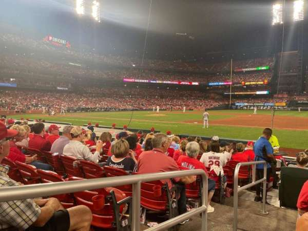 Busch Stadium, section: 141, row: L, seat: 1
