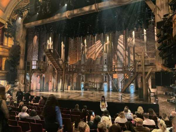 Richard Rodgers Theatre, section: Orchestra R, row: L, seat: 10