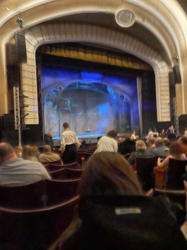 Blackpool Opera House, section: Stalls, row: P, seat: 33P
