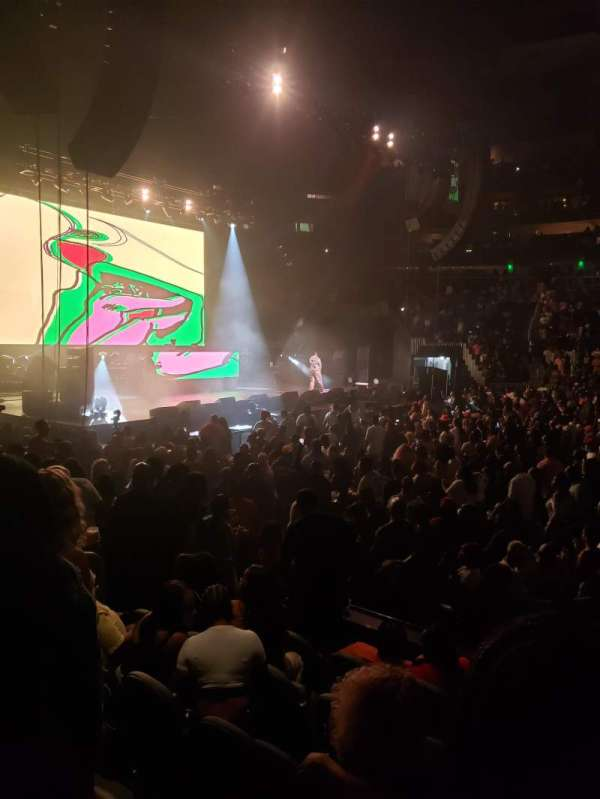 State Farm Arena, section: 120, row: GG, seat: 10