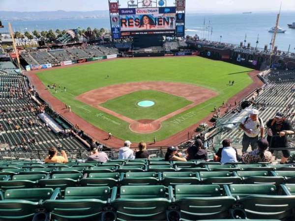 Oracle Park, section: VR315, row: 7, seat: 6