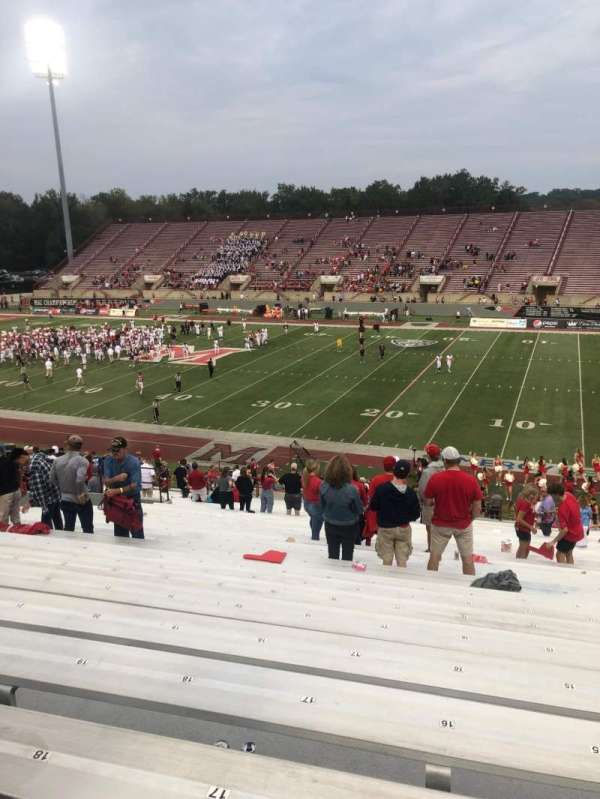 Yager Stadium, section: 2, row: 37, seat: 19