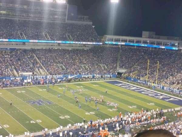 Kroger Field, section: 203, row: 24, seat: 33