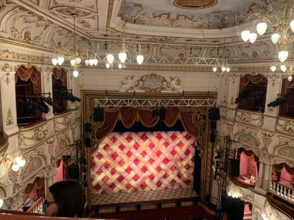 Lyceum Theatre (Sheffield), section: Balcony, row: C, seat: 22