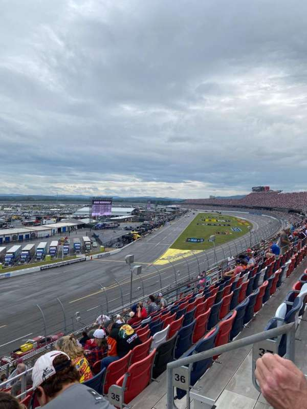 Talladega Superspeedway, section: Anniston Tower I, row: 38, seat: 3