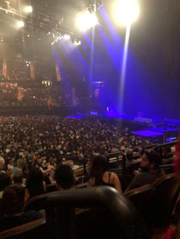 The Forum, section: 110, row: 6, seat: 6