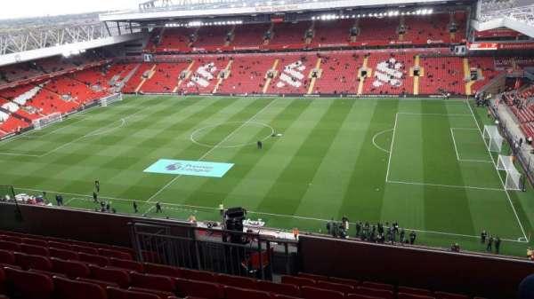 anfield, section: U8, row: 66, seat: 209