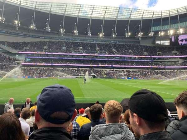 Tottenham Hotspur Stadium, section: 003, row: 10, seat: 670