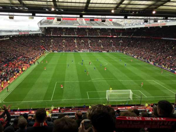Old Trafford, section: E332, row: 10, seat: 122