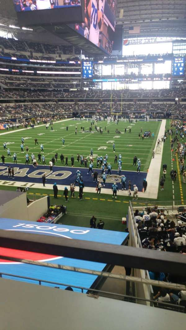 AT&T Stadium, section: 245, row: 1, seat: 1 and 2
