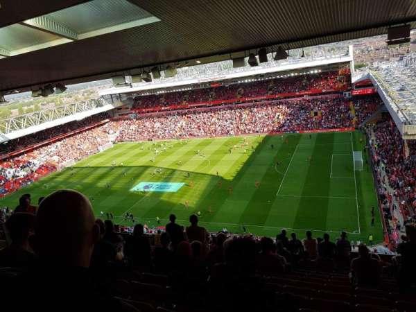 Anfield, section: U8, row: 74