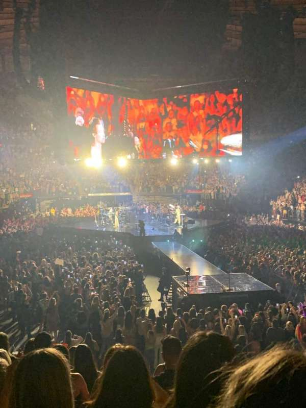 Madison Square Garden, section: 101, row: 13, seat: 19