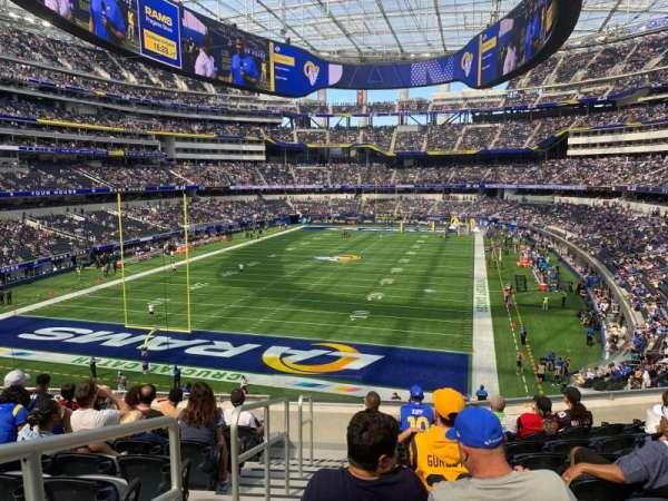 SoFi Stadium, section: 235, row: 9, seat: 15
