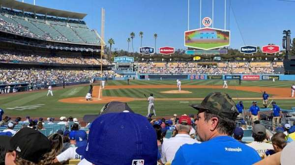 Dodger Stadium, section: 10FD, row: M, seat: 4