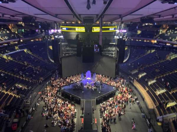 Madison Square Garden, section: 320, row: 2, seat: 2