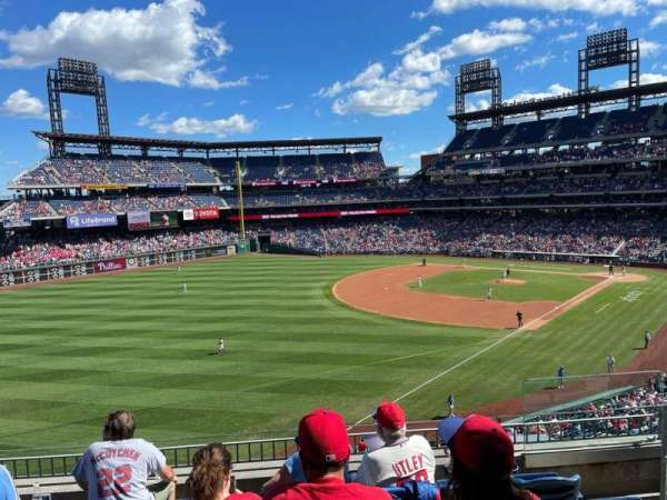 Citizens Bank Park, section: 236, row: 5, seat: 4