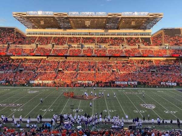 Reser Stadium, section: 12, row: 50, seat: 8