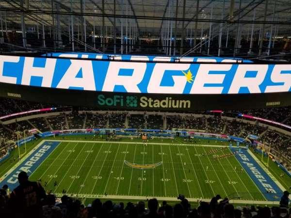 SoFi Stadium, section: 540, row: 15, seat: 10