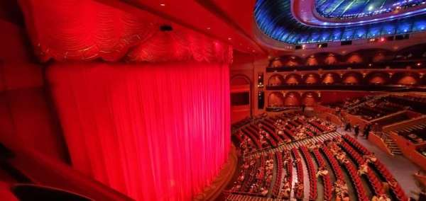 O Theatre, section: 300, row: L, seat: 303