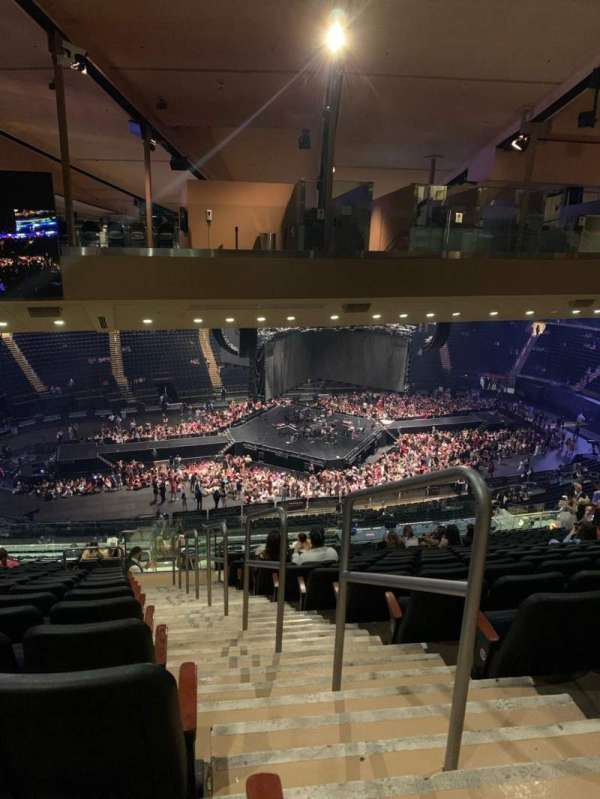 Madison Square Garden, section: 222, row: 23, seat: 24