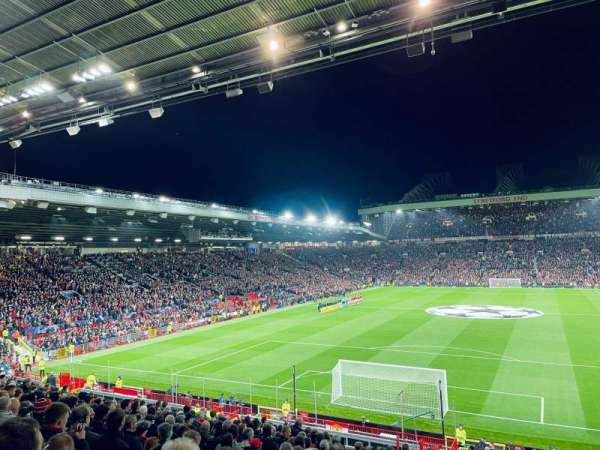 Old Trafford, section: E236, row: 20, seat: 85