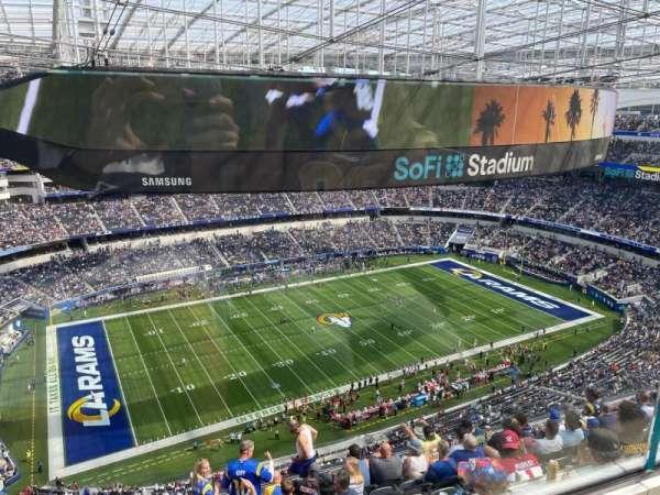 SoFi Stadium, section: 510, row: 1, seat: 16