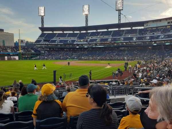 PNC Park, section: 131, row: H, seat: 4