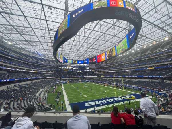 SoFi Stadium, section: 204, row: 5, seat: 7