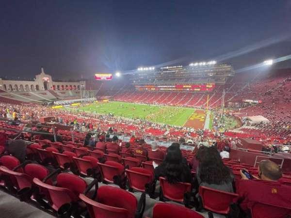 Los Angeles Memorial Coliseum, section: 219, row: 13, seat: 10
